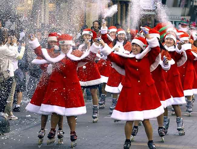 7 phong tục đón Giáng sinh kỳ lạ trên thế giới