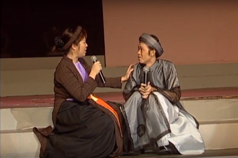 """Hoài Linh, Hồng Vân và Thúy Nga duyên dáng, hóm hỉnh với tiểu phẩm hài """"Nàng Sen"""""""