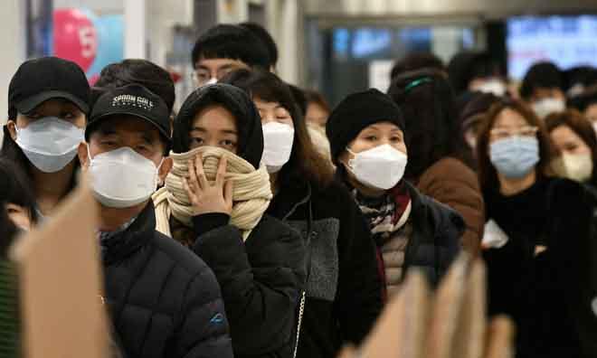 Số ca nhiễm virus corona ở Hàn Quốc tăng lên 3000 ngàn người