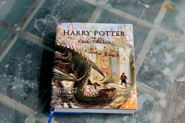 Chào hè 2020 với siêu phẩm in màu 'Harry Potter và chiếc cốc lửa'
