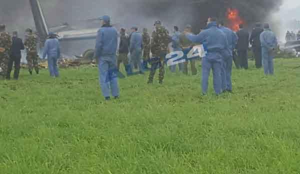 Rơi máy bay tại Algeria: Ít nhất 200 người đã thiệt mạng