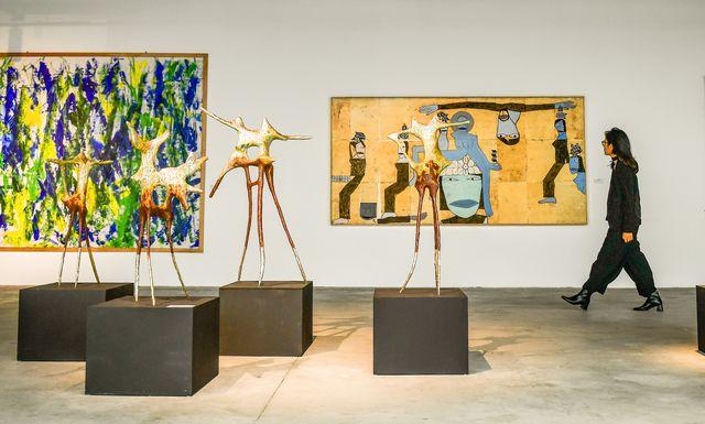 Triển lãm mỹ thuật của nhiều nghệ sĩ châu Á tại Hà Nội