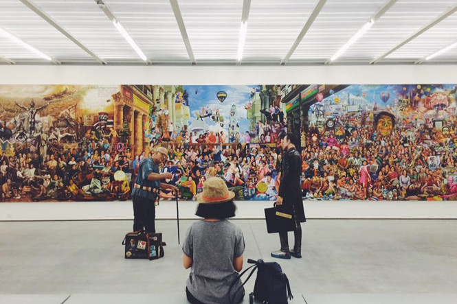 Tham quan bảo tàng ngừa trầm cảm