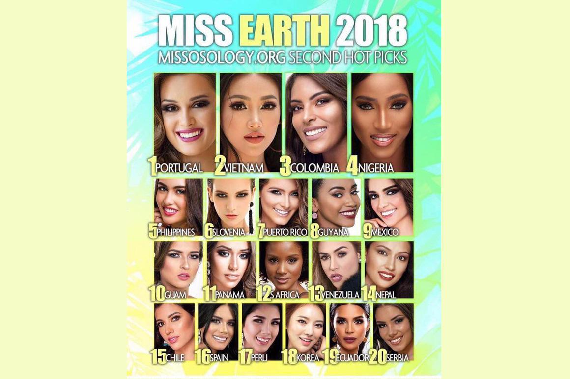 Hoa hậu Trái Đất 2018: Nguyễn Phương Khánh đang là ứng viên sáng giá