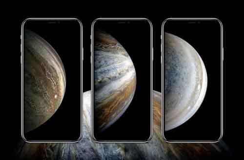 Hình nền được cho là của iPhone 2018 bị rò rỉ