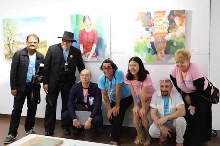 Giao lưu, sáng tác, triển lãm mỹ thuật quốc tế lần thứ nhất năm 2019