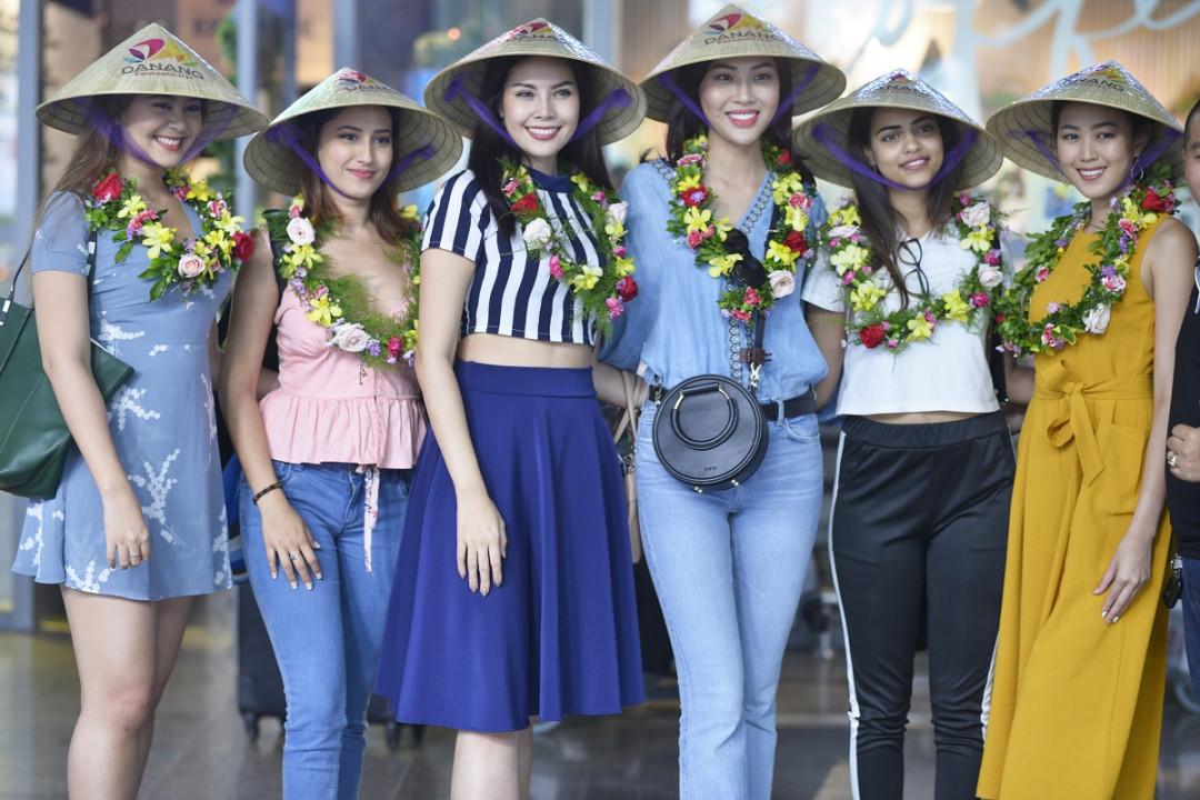 Các Hoa hậu Thế giới đến Đà Nẵng trải nghiệm và quảng bá du lịch
