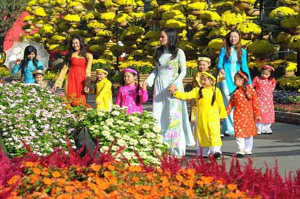 Sẽ tổ chức hội hoa xuân Tết Kỷ Hợi tại các công viên lớn
