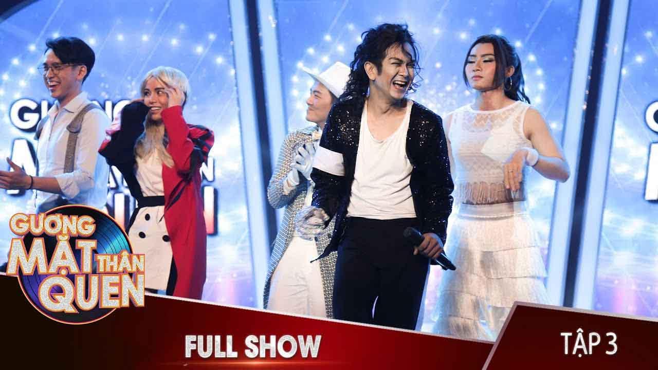 Gương Mặt Thân Quen 2018 - Billie Jean (Michael Jackson) - Diễn viên Hùng Thuận