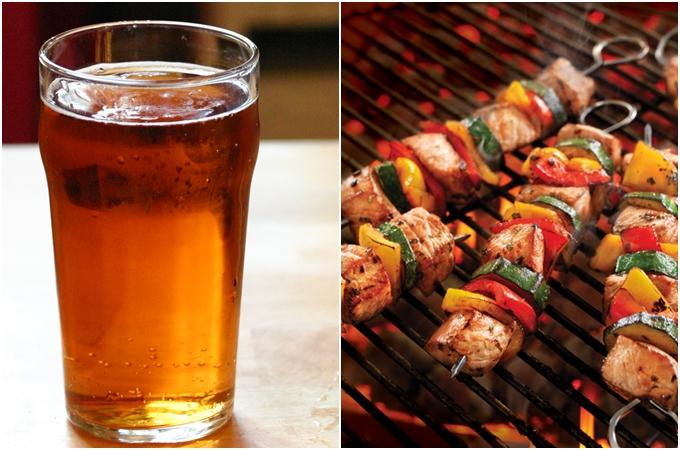 Bia nào đồ ăn nấy