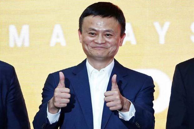 Công bố mới của Jack Ma
