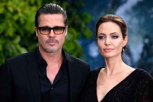 Brad Pitt gặp các con trong Ngày của cha