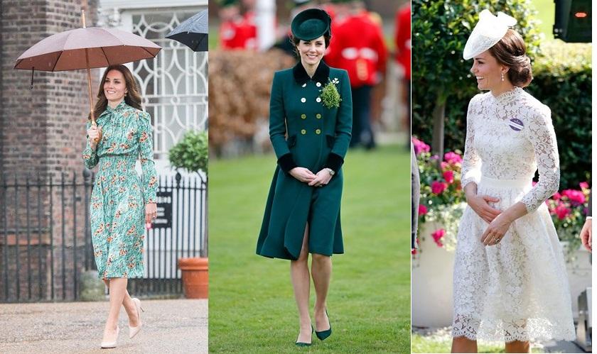 Cận cảnh những trang phục đắt giá của Công nương Kate Middleton