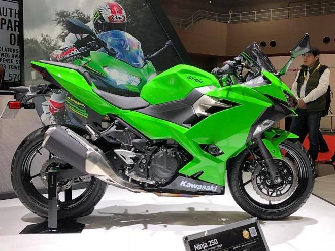 Chi tiết Kawasaki Ninja 250 2018 có giá 133 triệu đồng tại Việt Nam