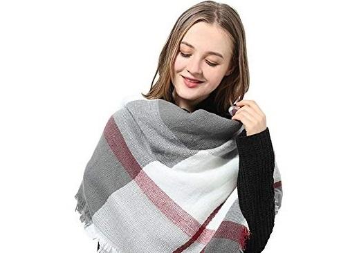 Những kiểu quàng khăn siêu đáng yêu