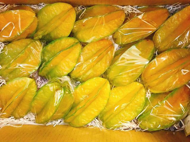 Với giá 300.000 đồng/kg, Khế Đài Loan vẫn được khách Việt ưa chuộng