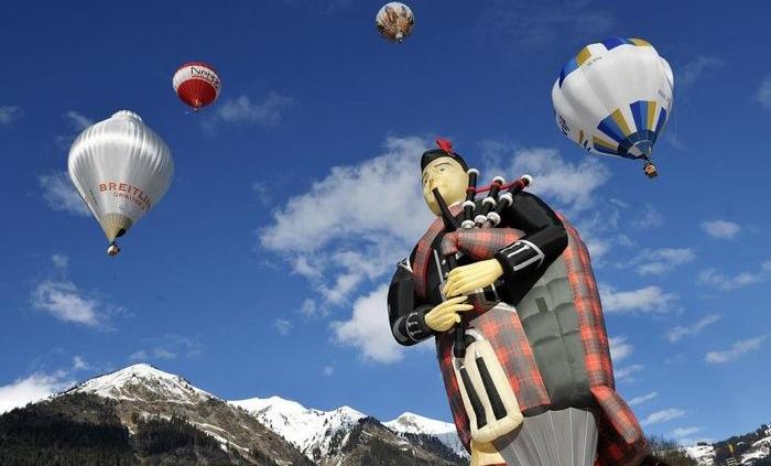 Những lễ hội khinh khí cầu quốc tế làm say đắm lòng người