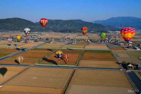 Những hình ảnh thú vị về lễ hội khinh khí cầu Saga