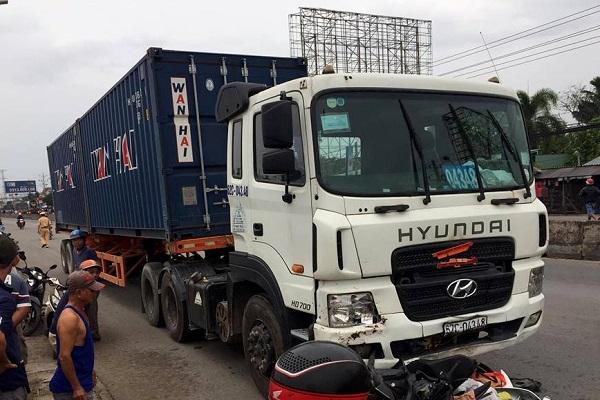 Phó Thủ tướng yêu cầu điều tra, công an cho biết sẽ khởi tố vụ xe container gây tai nạn