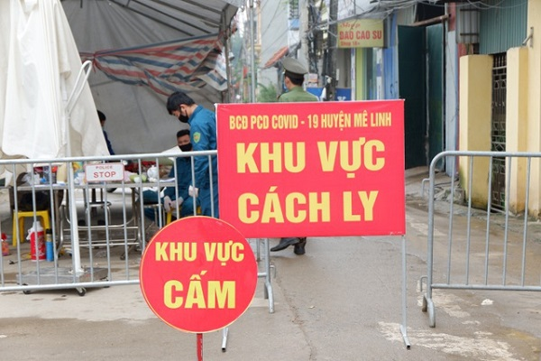 Chiều 12/4: Việt Nam có thêm hai ca mắc mới COVID-19