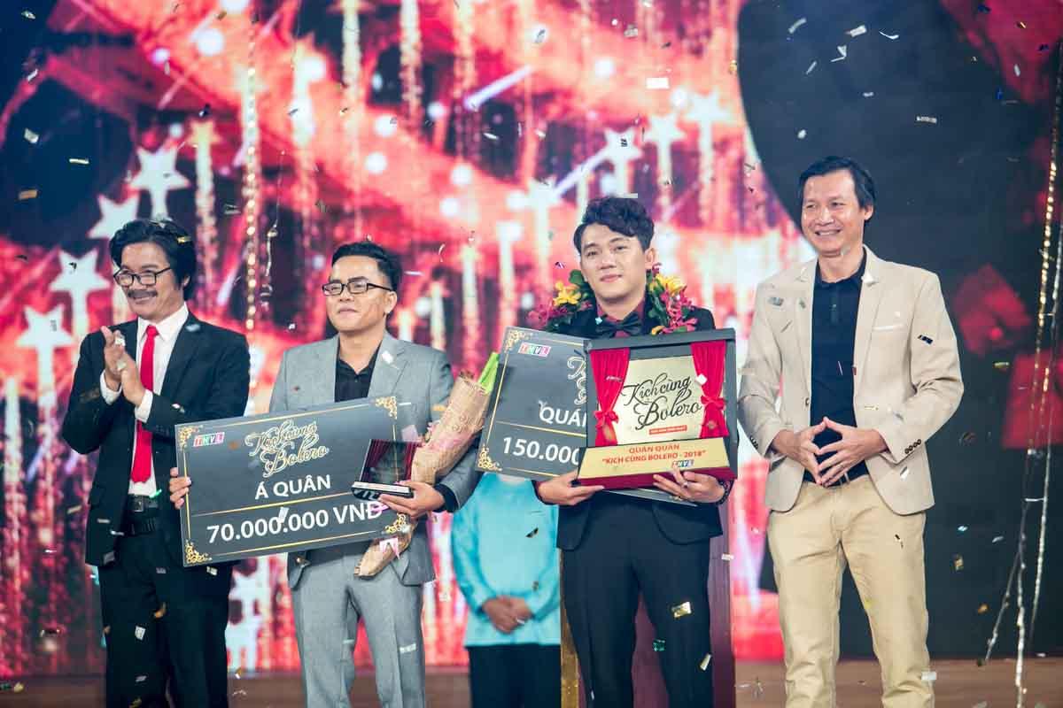Minh Nhật đăng quang Quán quân 'Kịch cùng Bolero 2018'