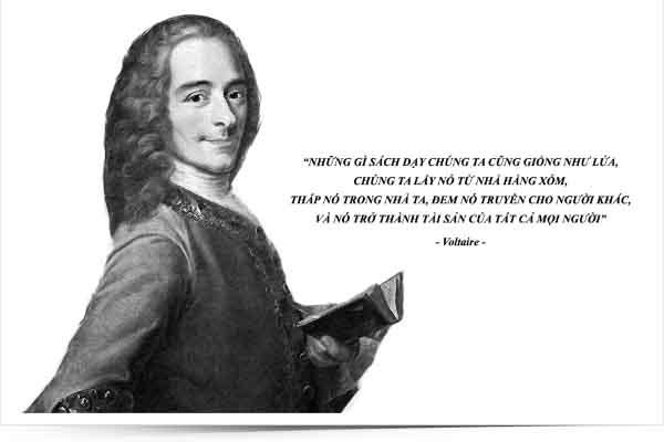 Kỳ 16: Nhà tư tưởng Voltaire và những khai sáng bên tách cà phê