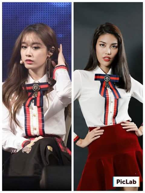 Một số sao Việt bắt chước phong cách ăn mặc của sao Hàn