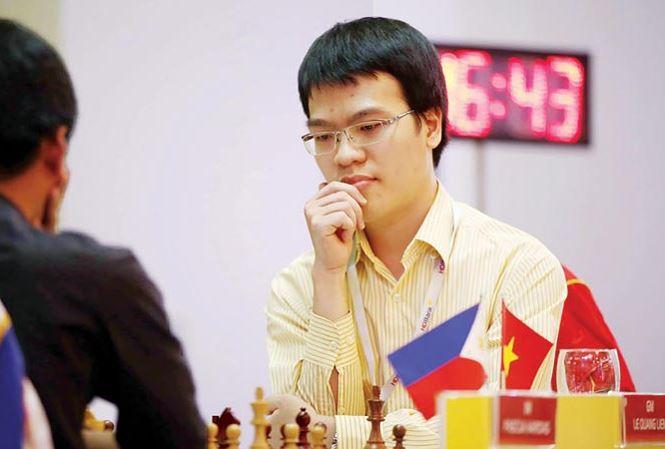 Lê Quang Liêm là hạt giống số 1 tại Giải cờ vua quốc tế HDBank 2018