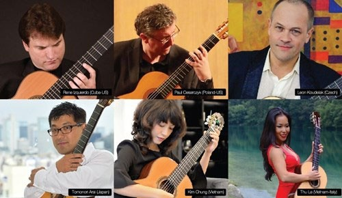 Liên hoan Guitar quốc tế TP HCM lần thứ 5 quy tụ nhiều nghệ sĩ tên tuổi