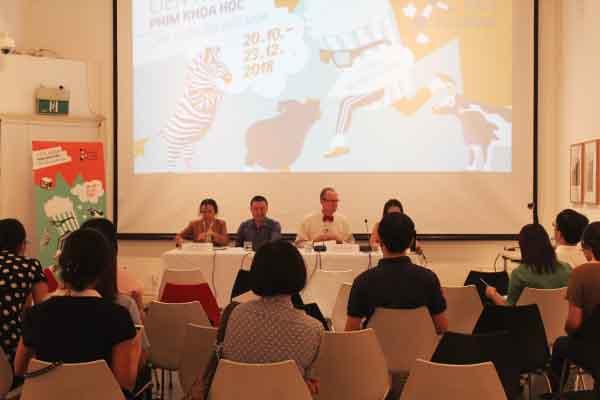 Liên hoan phim khoa học 2018 tại Việt Nam - Cuộc cách mạng thực phẩm