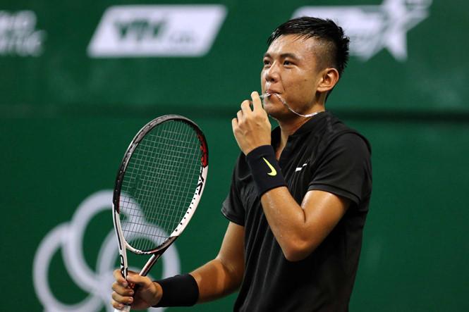Lý Hoàng Nam thắng trận mở màn giải quần vợt nhà nghề Thụy Điển