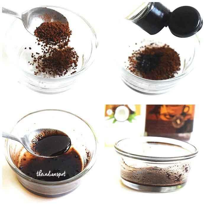 Mách phái nữ cách làm mặt nạ cà phê
