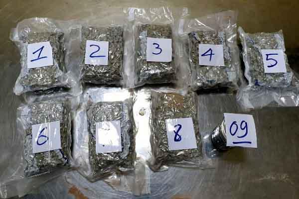Hải quan TP.HCM bắt giữ lô ma túy hơn 2kg