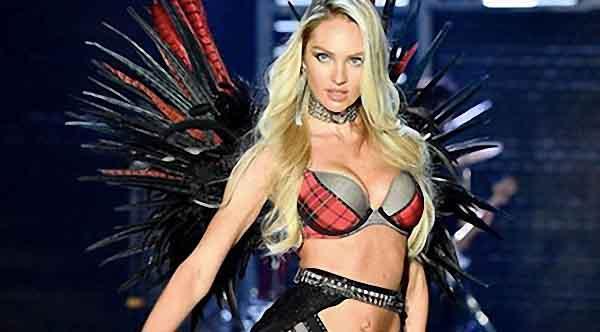 Mẫu cánh thiên thần lên sàn hụt của Candice Swanepoel