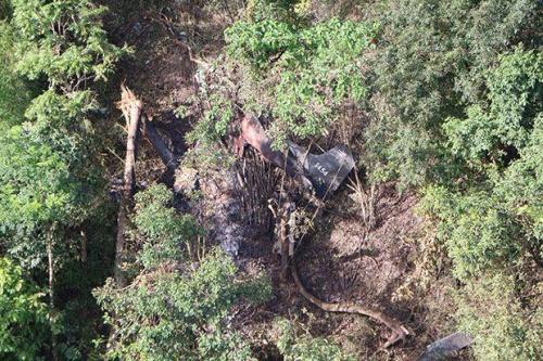 Máy bay Thái Lan rơi xuống biên giới Myanmar