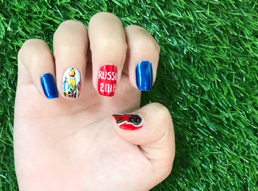 Những mẫu móng tay chào đón World Cup