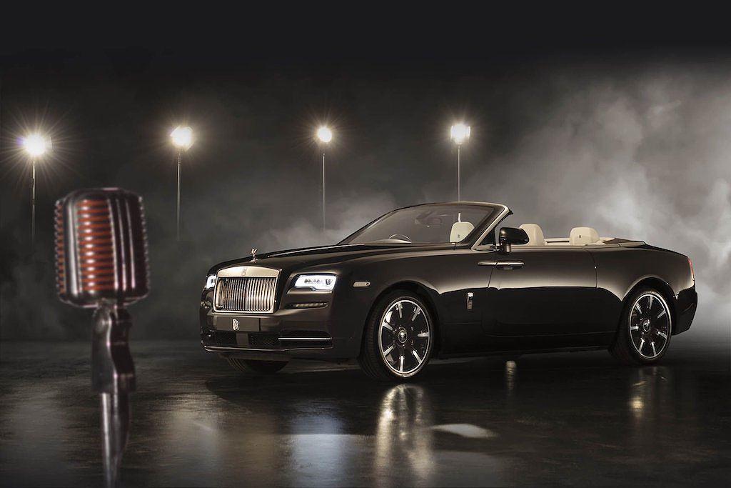 Ngắm mui trần siêu sang Rolls-Royce Dawn lấy cảm hứng từ âm nhạc