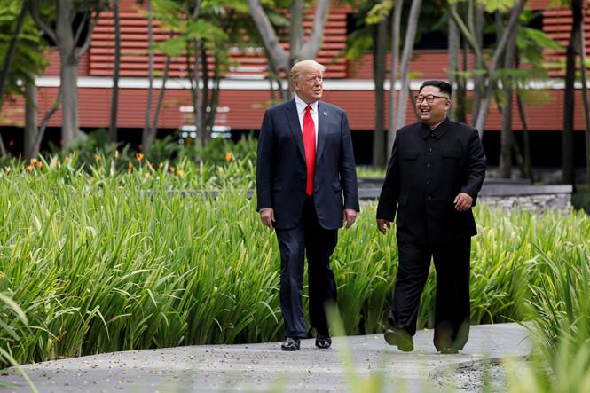 Lãnh đạo Kim Jong-Un đã có số điện thoại riêng của tổng thống Trump