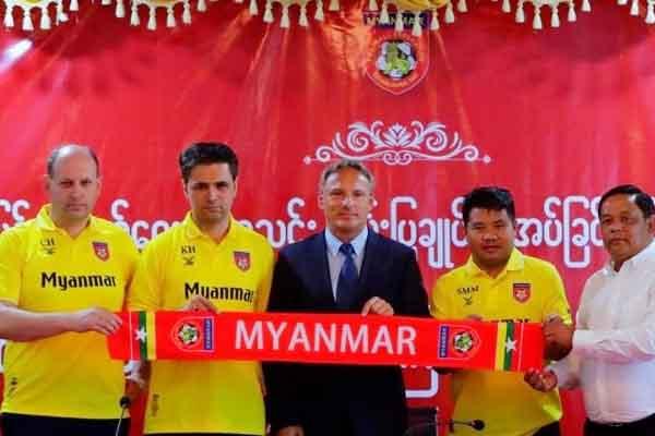 Myanmar có tướng mới để đấu ĐT Việt Nam tại AFF Cup 2018