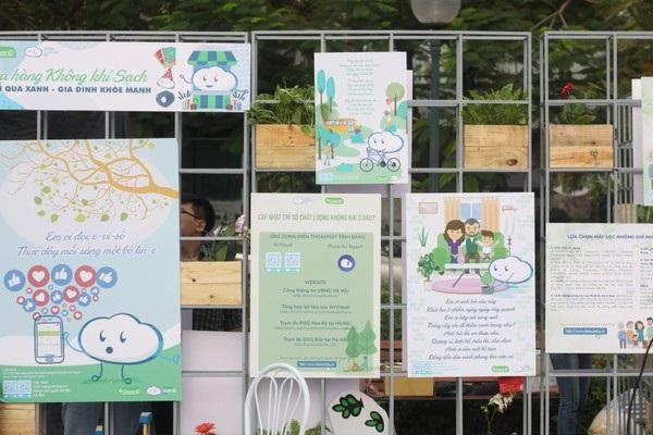 Ngày hội Không Khí Sạch Việt Nam thu hút 1.000 người tham gia