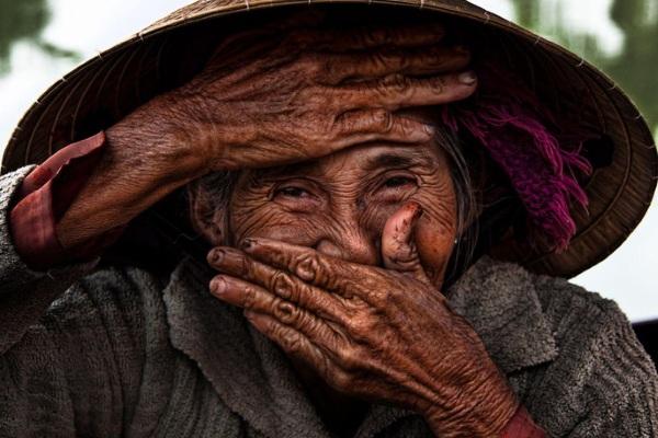 Bức ảnh cụ bà Việt Nam đẹp nhất thế giới