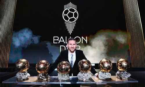 Lionel Messi của Argentina vinh hạnh nhận giải Quả bóng vàng