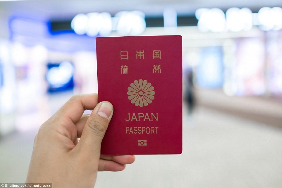 Top 10 tấm hộ chiếu quyền lực nhất 2018,  Nhật Bản giữ vị trí số 1