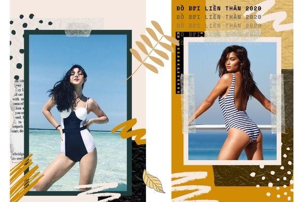 """Những mẫu đồ bơi liền thân sẽ """"phủ sóng' khắp các bãi biển hè này"""