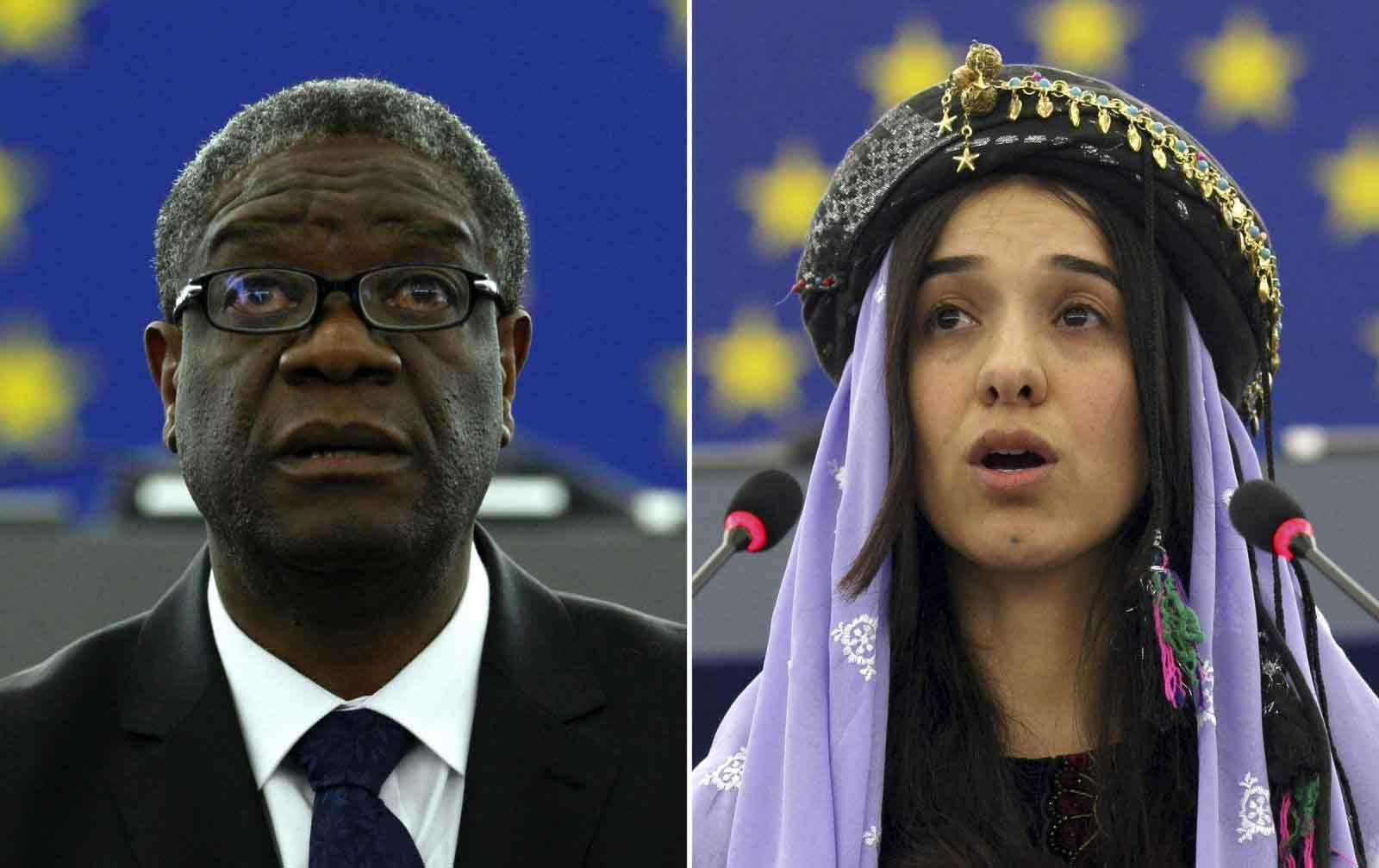 Giải Nobel Hòa bình 2018 vinh danh những người tiên phong chống dùng bạo lực tình dục