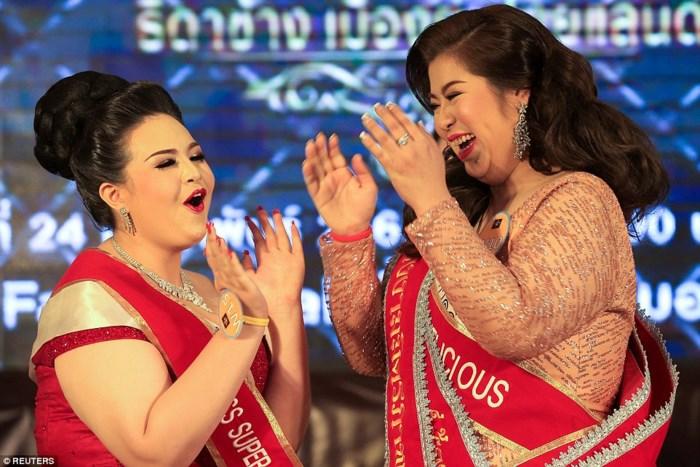 Thái Lan lại có thêm một nữ hoàng béo với sức nặng hơn 1 tạ