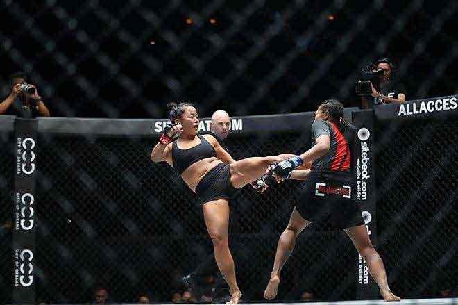 Nữ võ sĩ gốc Việt Bi Nguyen chiến thắng ở ONE Championship