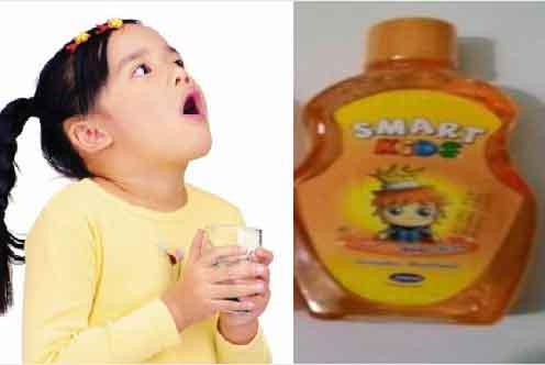 Cục Quản lý Dược yêu cầu thu hồi nước súc miệng trẻ em Smart Kids