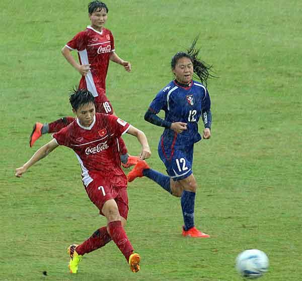 Tái đấu Đài Bắc tuyển nữ Việt Nam chiến thắng thuyết phục