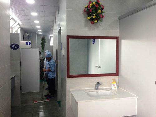Bệnh viện E: Nhà vệ sinh đẹp không kém gì ở khách sạn